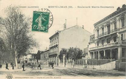 """CPA FRANCE 26 """"Montélimar, bld Marre Desmarais"""""""
