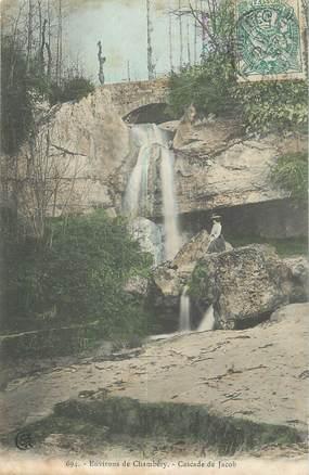 "CPA FRANCE 73 "" Environs de Chambéry, Cascade de Jacob""."