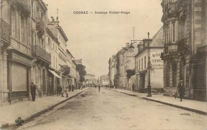 """CPA FRANCE 16 """" Cognac, Avenue Victor Hugo""""."""