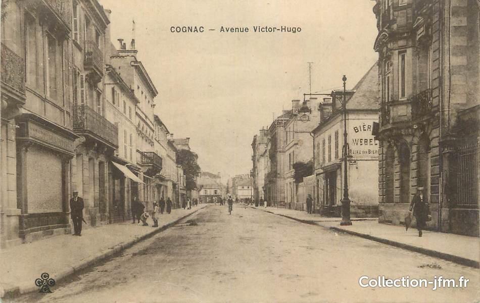 Cpa france 16 cognac avenue victor hugo 16 charente cognac - 16 avenue victor hugo ...