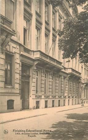 """CPA BELGIQUE """"Bruxelles, avenue Louise"""""""