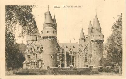 """CPA BELGIQUE """"Faulx, le chateau"""""""