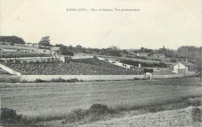 "CPA FRANCE 16 "" Aigre, Clos de Cessac, vue panoramique""."