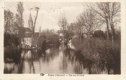"""CPA FRANCE 16 """" Aigre, Vue sur le Gord""""."""