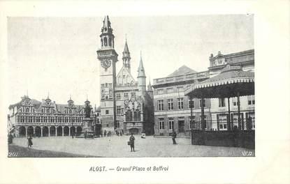 """CPA BELGIQUE """"Alost, Grand'Place et Beffroi"""""""