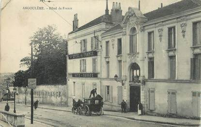 "CPA FRANCE 16 "" Angoulême, Hôtel de France""."