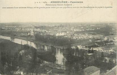 "CPA FRANCE 16 "" Angoulême, Panorama""."