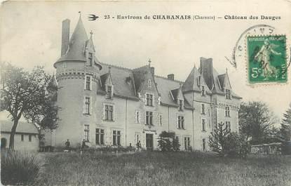 """CPA FRANCE 16 """" Environs de Chabanais, Château des Dauges"""" ."""