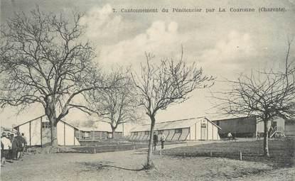 """CPA FRANCE 16 """"La Couronne, Cantonnement du pénitencier """"."""