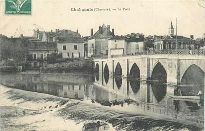 "CPA FRANCE 16 ""Chabanais, Le pont""."