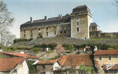 """CPSM FRANCE 16 """"Chalais, Le château ancienne résidence des Talleyrand""""."""