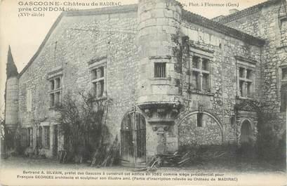 """CPA FRANCE 32 """" Madirac, Le château""""."""