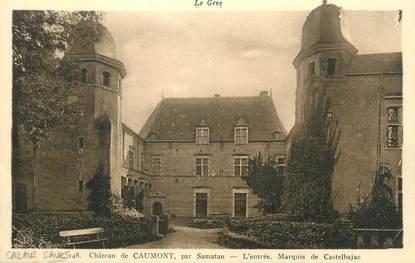 """CPA FRANCE 32 """" Caumont, Le château""""."""