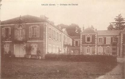 """CPA FRANCE 32 """" Eauze Château de Cieutat""""."""