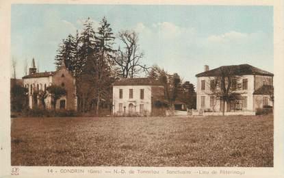 """CPA FRANCE 32 """" Gondrin, Notre Dame de Tonnetau """"."""