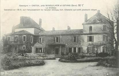 "CPA FRANCE 32 "" Castex, Le château""."