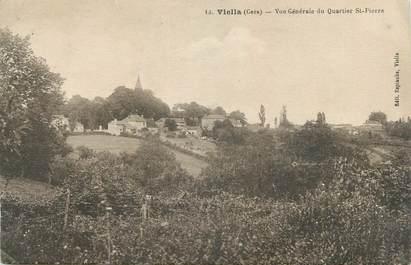 """CPA FRANCE 32 """" Viella, Vue générale du quartier St Pierre""""."""