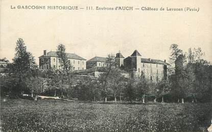 """CPA FRANCE 32 """" Environs d'Auch, Le château de Lavacan""""."""