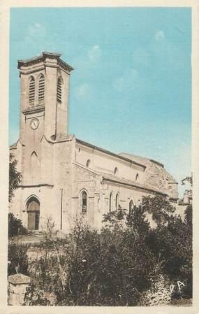 """CPSM FRANCE 32 """" St Puy, L'église""""."""