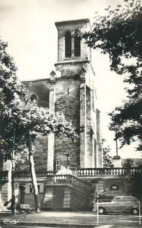 """CPSM FRANCE 32 """" Cabauzon, La vieille église""""."""