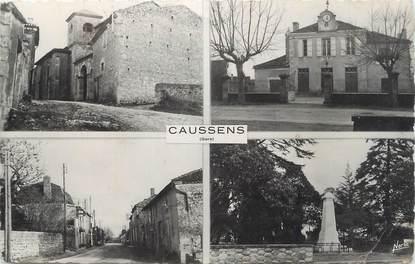 """CPSM FRANCE 32 """" Caussens, Vues""""."""