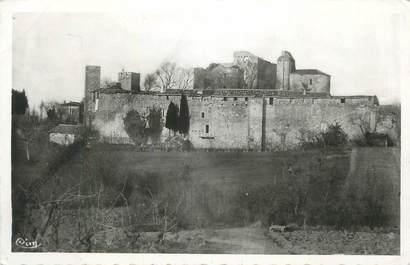 """CPSM FRANCE 32 """" Larressingle, Vue générale du château """"."""