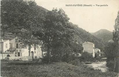 """CPA FRANCE 34 """"Bains d'Avène, Vue partielle""""."""