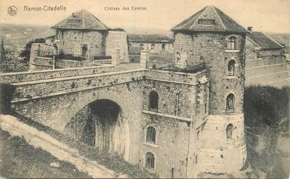 """CPA BELGIQUE """"Namur Citadelle, Chateau des Comtes"""""""