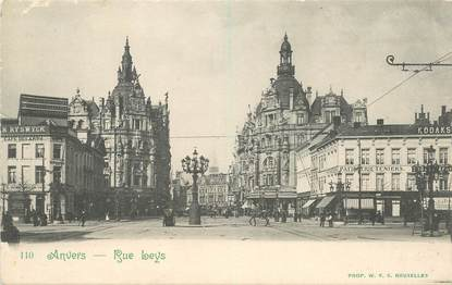 "CPA BELGIQUE ""Anvers, rue Leys"""