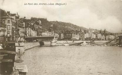 """CPA BELGIQUE """"Liège, le pont des Arches"""""""