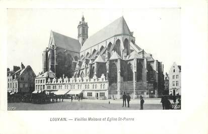 """CPA BELGIQUE """"Louvain, Eglise Saint Pierre"""""""