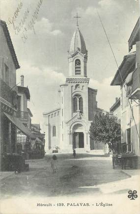 "CPA FRANCE 34 "" Palavas, L'église""."