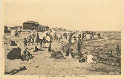 "CPA FRANCE 34 "" Carnon Plage, La plage""."