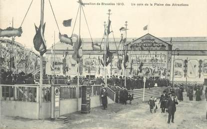 """CPA BELGIQUE """"Exposition de Bruxelles 1910"""" / MANEGE"""