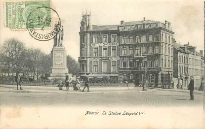 """CPA BELGIQUE """"Namur, la statue Léopold Ier"""""""