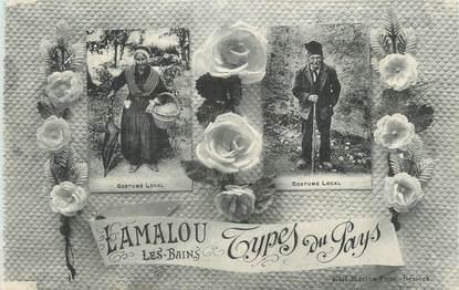 """CPA FRANCE 34 """" Lamalou les Bains, Types du pays"""". / FOLKLORE"""