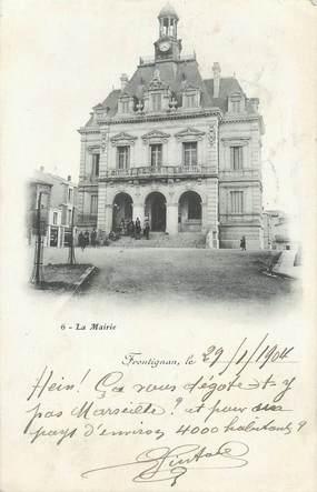 "CPA FRANCE 34 "" Frontignan, La Mairie""."