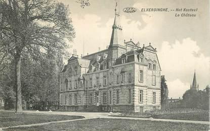 """CPA BELGIQUE """"Elverdinghe, le chateau"""""""