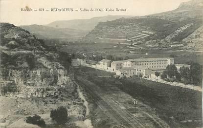 "CPA FRANCE 34 "" Bédarieux, Vallée de l'Orb, Usine Bernat""."