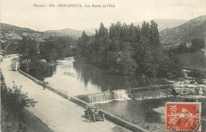 """CPA FRANCE 34 """" Bédarieux, Les bords de l'Orb""""."""
