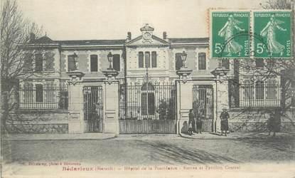 """CPA FRANCE 34 """" Bédarieux, L'Hôpital de la Providence""""."""