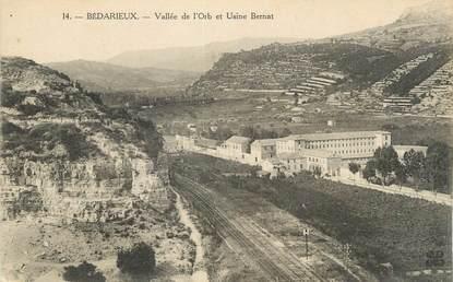 """CPA FRANCE 34 """" Bédarieux, Vallée de l'Orb""""."""