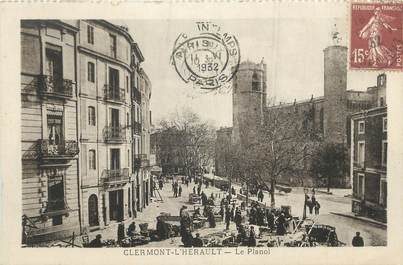 """CPA FRANCE 34 """" Clermont L'Hérault, Le Planol""""."""
