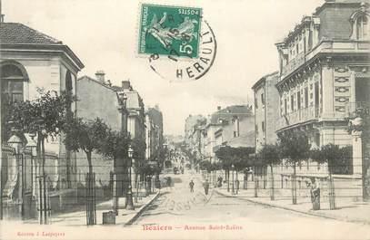 "CPA FRANCE 34 "" Béziers, Avenue St Saëns""."