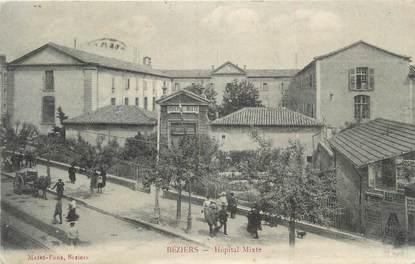 """CPA FRANCE 34 """" Béziers, Théâtre des variétés""""."""