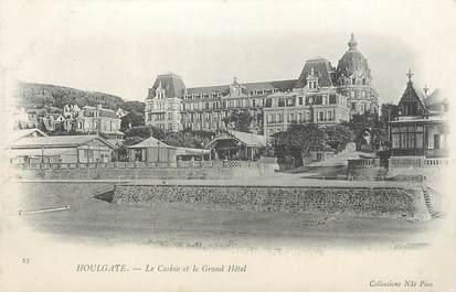 """CPA FRANCE 14 """" Houlgate, Le casino et le grand hôtel""""."""