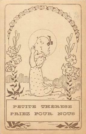 """CPA FRANCE 14 """" Lisieux, Petite Thérèse priez pour nous""""."""