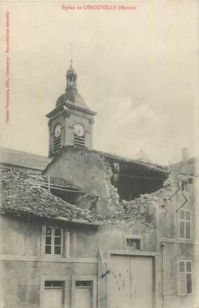 """CPA FRANCE 55 """" Lérouville, L'église""""."""