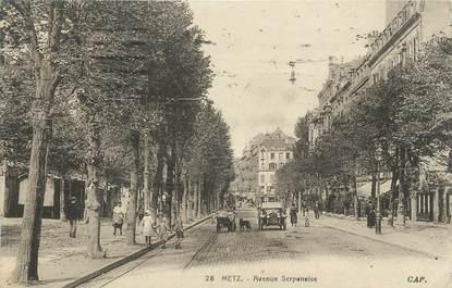 "CPA FRANCE 57 ""Metz, Avenue Serpenoise""."