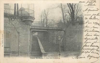 """CPA FRANCE 93 """" Vieux St Ouen Rue des Guichets""""."""